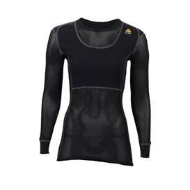 Aclima Woolnet Crew Neck Damen Merino Unterwäsche jet black hier im Aclima-Shop günstig online bestellen