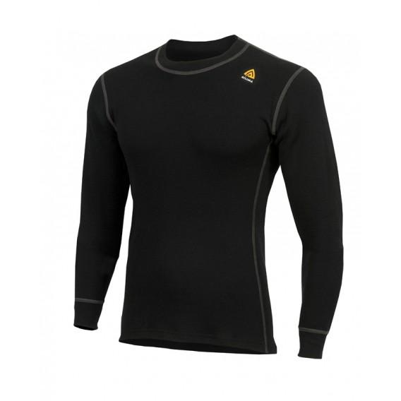 Aclima Warmwool Crew Neck Herren Merino Unterwäsche jet black hier im Aclima-Shop günstig online bestellen