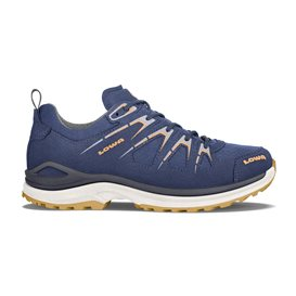 Lowa Innox Evo GTX Low Damen Trekkingschuh Multifunktionsschuh stahlblau-mandarine