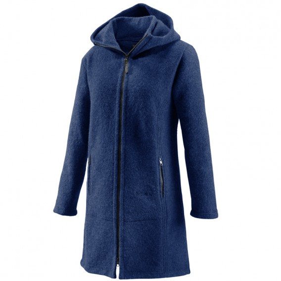 Mufflon Jana Merino Mantel Wintermantel Jacke nachtblau hier im Mufflon-Shop günstig online bestellen