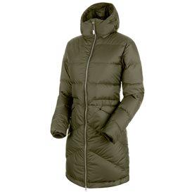 Mammut Fedoz IN Hooded Parka Damen Winterjacke Daunenjacke iguana hier im Mammut-Shop günstig online bestellen