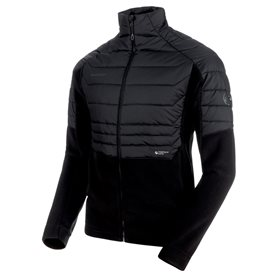 Mammut Innominata ML Hybrid Jacket Herren Fleecejacke black hier im Mammut-Shop günstig online bestellen