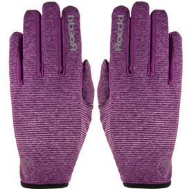 Roeckl Java Unisex Laufhandschuh Crossover Handschuh purple