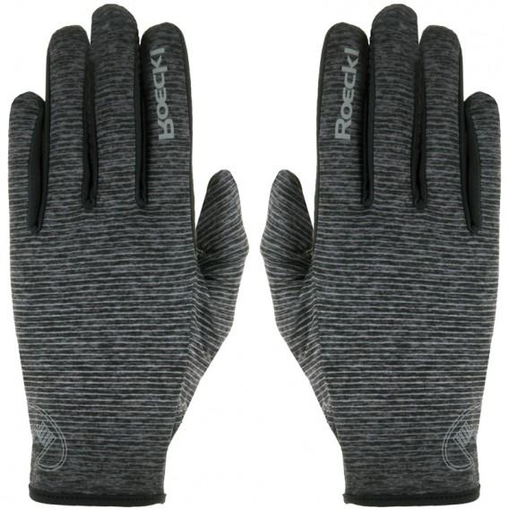 Roeckl Java Unisex Laufhandschuh Crossover Handschuh anthrazit melange hier im Roeckl-Shop günstig online bestellen