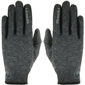 Roeckl Java Unisex Laufhandschuh Crossover Handschuh anthrazit melange