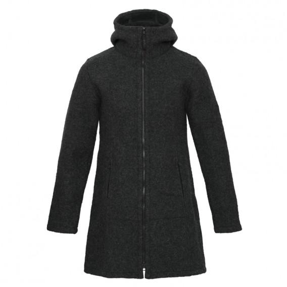Mufflon Rika Damen Wollmantel Wintermantel anthrazit im ARTS-Outdoors Mufflon-Online-Shop günstig bestellen
