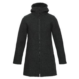 Mufflon Rika Damen Merino Mantel anthrazit im ARTS-Outdoors Mufflon-Online-Shop günstig bestellen