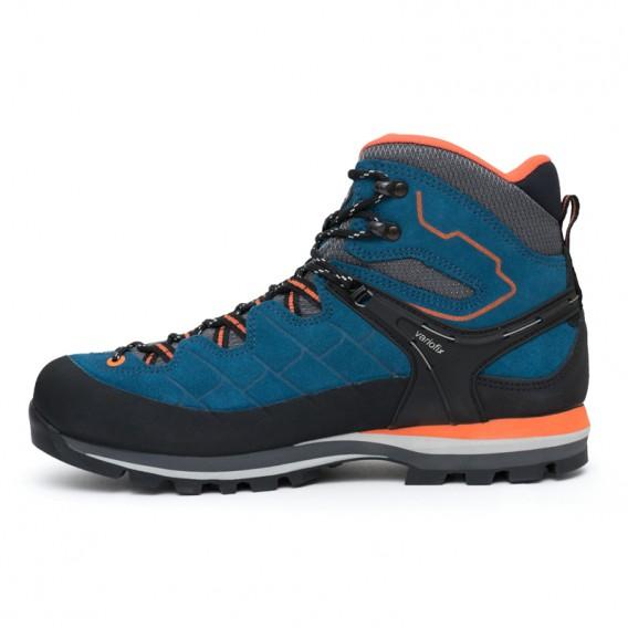 Meindl Litepeak GTX Herren Wanderschuh Trekkingschuh blau-orange hier im Meindl-Shop günstig online bestellen