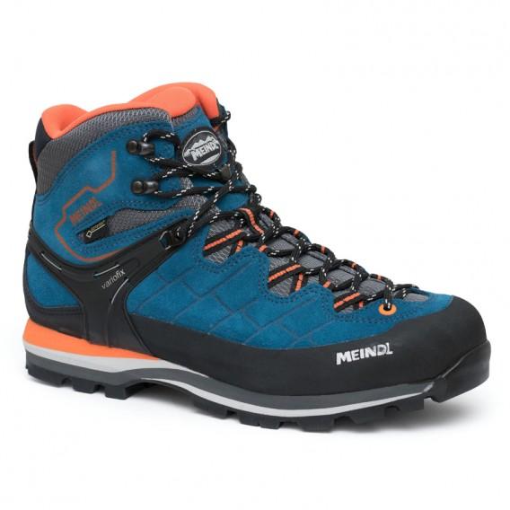 c983e68b89a5 Meindl Litepeak GTX Herren Wanderschuh Trekkingschuh blau-orange