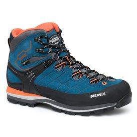 Meindl Litepeak GTX Herren Wanderschuh Trekkingschuh blau-orange