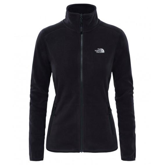 The North Face 100 Glacier Full Zip Damen Fleecejacke black hier im The North Face-Shop günstig online bestellen