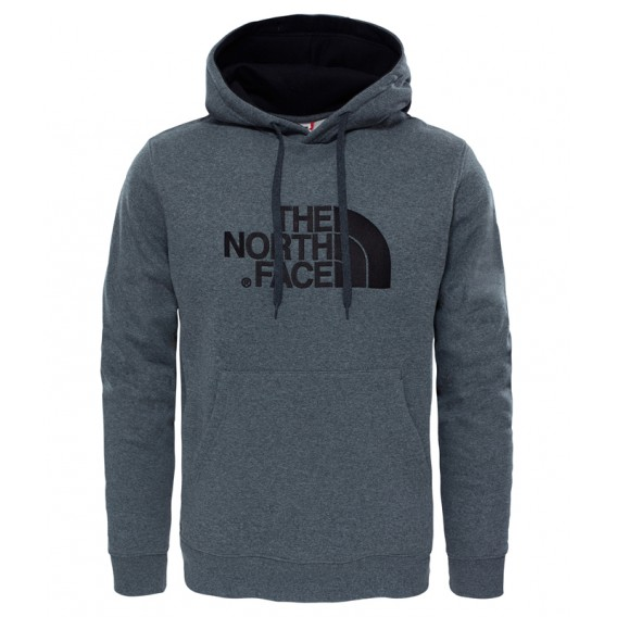 newest collection 79cd4 2bb21 The North Face Drew Peak Herren Pullover Hoodie medium grey heather-black