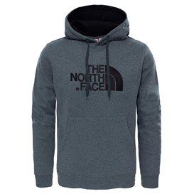 The North Face Drew Peak Herren Pullover Hoodie medium grey heather-black