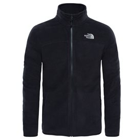 The North Face 100 Glacier Full Zip Herren Fleecejacke black