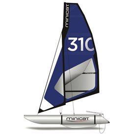 MiniCat 310 Super aufblasbarer Katamaran Segelboot