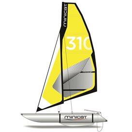 MiniCat 310 Super aufblasbarer Katamaran Segelboot hier im MINICAT-Shop günstig online bestellen