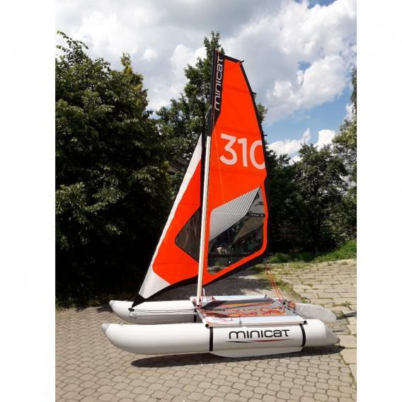 MiniCat 310 Sport aufblasbarer Katamaran Segelboot hier im MINICAT-Shop günstig online bestellen
