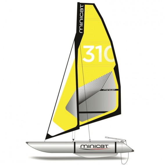 MiniCat 310 Sport aufblasbarer Katamaran Segelboot im ARTS-Outdoors MINICAT-Online-Shop günstig bestellen