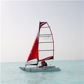 MiniCat 420 Evoque aufblasbarer Katamaran Segelboot hier im MINICAT-Shop günstig online bestellen