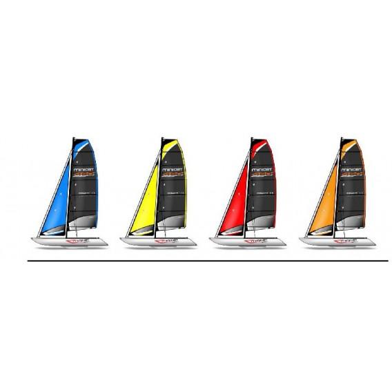 MiniCat 460 Esprit aufblasbarer Katamaran Segelboot hier im MINICAT-Shop günstig online bestellen