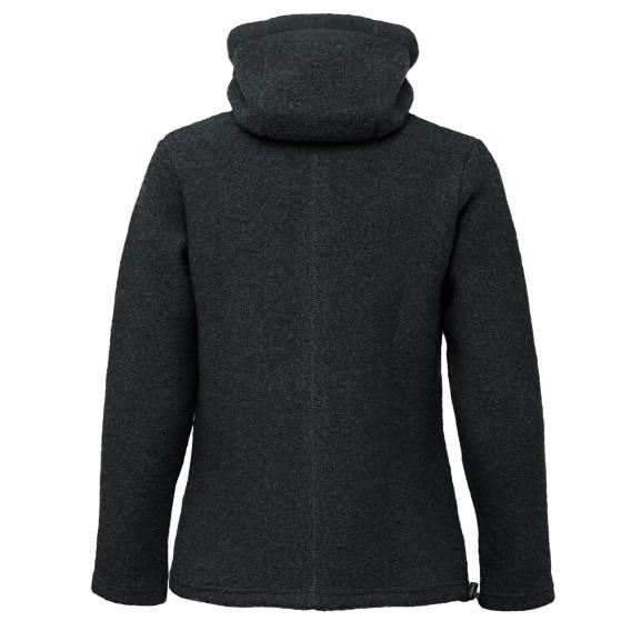 Mufflon Caro Damen Wolljacke Winterjacke anthrazit hier im Mufflon-Shop günstig online bestellen