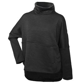The North Face Cozy Slacker Poncho Damen dark grey heather