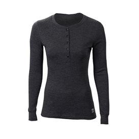 Aclima Warmwool Granddad Shirt Damen Merino Unterwäsche marengo hier im Aclima-Shop günstig online bestellen