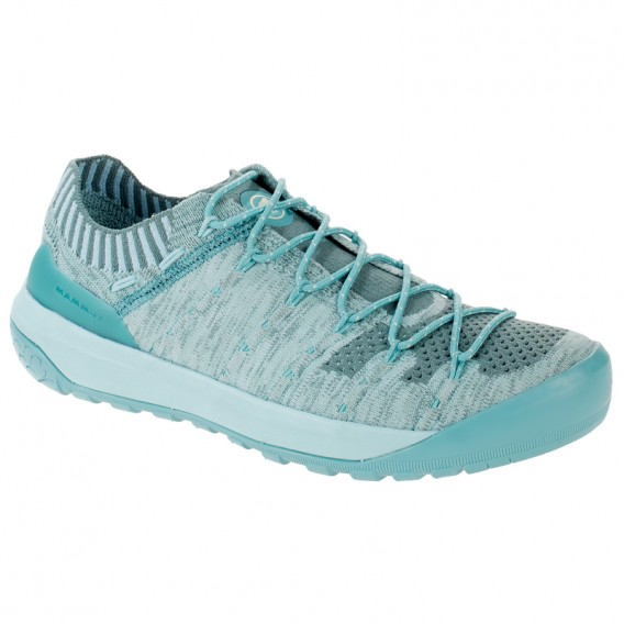 Mammut Hueco Knit Low Damen Sneaker Freizeitschuhe waters-light waters im ARTS-Outdoors Mammut-Online-Shop günstig bestellen
