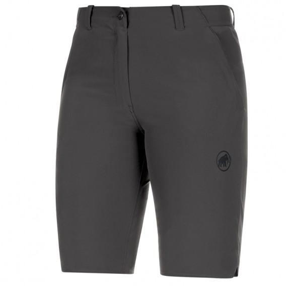 Mammut Runbold Shorts Damen kurze Wanderhose Trekkinghose phantom hier im Mammut-Shop günstig online bestellen