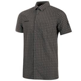 Mammut Lenni Shirt Herren Outdoor und Freizeit Kurzarmhemd titanium hier im Mammut-Shop günstig online bestellen