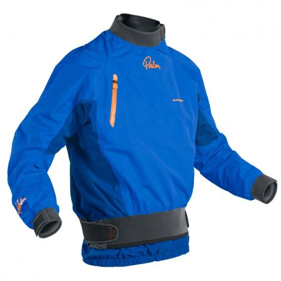 Palm Surge Jacket Herren Wildwasserjacke Paddeljacke ocean-cobalt hier im Palm-Shop günstig online bestellen