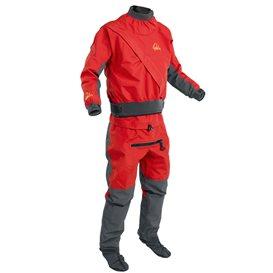 Palm Cascade Suit Paddelanzug Trockenanzug Dry Suit flame-jet grey