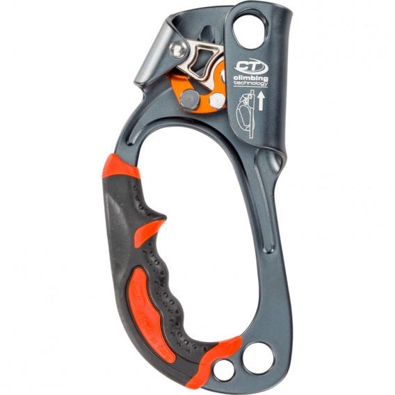 Climbing Technology Quick Up Plus Linkshändige Seilklemme grey hier im Climbing Technology-Shop günstig online bestellen