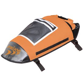 Prijon DeckMaster Decktasche mit Rucksack-Gurt schwarz-orange