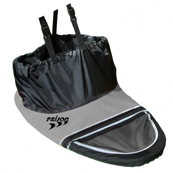 Prijon Nylon Traveller Spritzdecke Spritzschürze schwarz-grau hier im Prijon-Shop günstig online bestellen