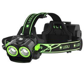 Ledlenser XEO19R Stirnlampe Helmlampe 2000 Lumen black-green