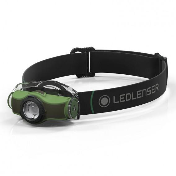 Ledlenser MH4 Outdoor Helm und Stirn Lampe green