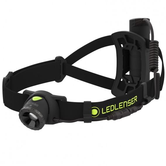 Ledlenser NEO10R Outdoor Helm und Stirn Lampe black