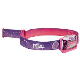 Petzl Tikkid Kinder Stirnlampe Helmlampe 20 Lumen pink
