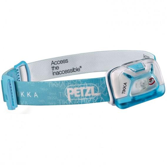 Petzl Tikka Stirnlampe Helmlampe 200 Lumen blau im ARTS-Outdoors Petzl-Online-Shop günstig bestellen