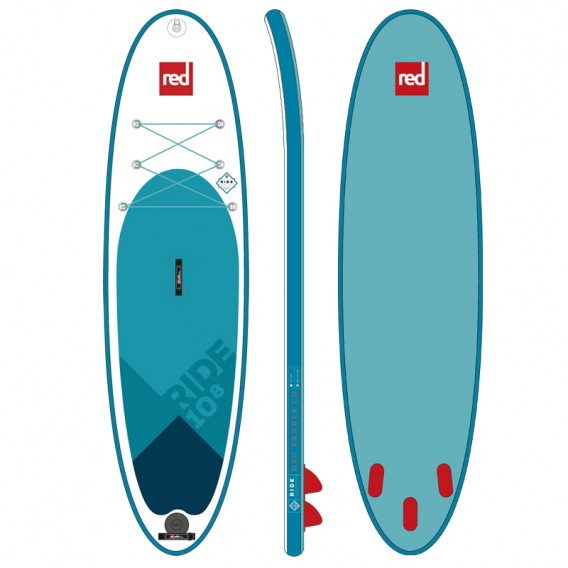 Red Paddle 10.8 Ride MSL SUP aufblasbares Stand Up Paddle Board im ARTS-Outdoors Red Paddle-Online-Shop günstig bestellen