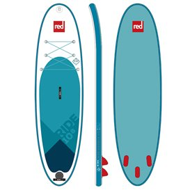 Red Paddle 10.8 Ride MSL SUP aufblasbares Stand Up Paddle Board