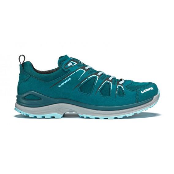 Lowa Innox Evo GTX Low Damen Trekkingschuh Multifunktionsschuh petrol-eisblau hier im Lowa-Shop günstig online bestellen