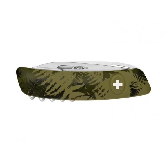 Swiza Taschenmesser C05 Outdoor Klappmesser silva camo farn khaki hier im Swiza-Shop günstig online bestellen