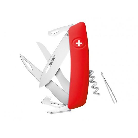 Swiza Taschenmesser D07 Scissors Outdoor Klappmesser rot hier im Swiza-Shop günstig online bestellen