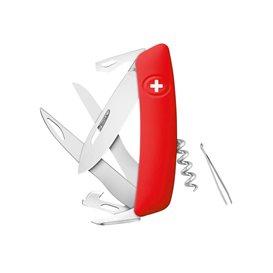 Swiza Taschenmesser D07 Scissors Outdoor Klappmesser rot