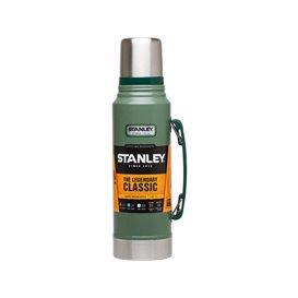 Stanley Classic Vakuum Flasche 1 l Isolierflasche Thermoskanne grün