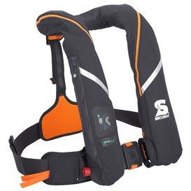 Secumar Survival 275 aufblasbare Rettungsweste schwarz-orange hier im Secumar-Shop günstig online bestellen