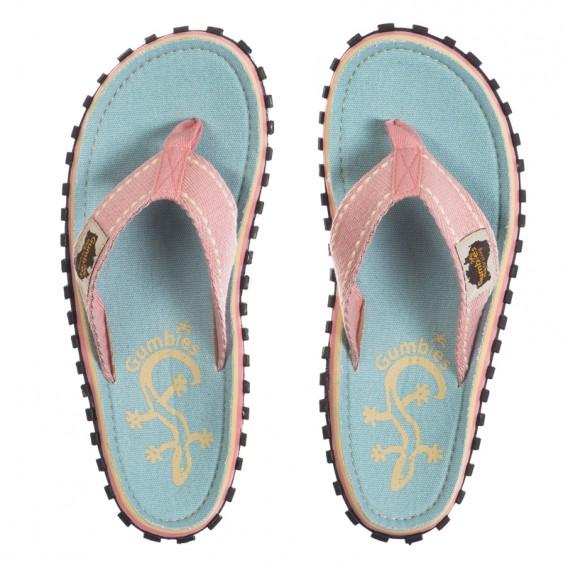 Gumbies Gecko Zehentrenner Badelatschen Sandale pink hier im Gumbies-Shop günstig online bestellen