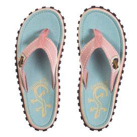 Gumbies Gecko Zehentrenner Flip-Flops Sandale pink